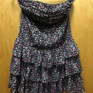 Express Floral Mini Dress brand new cute